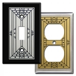Craftsman Style Switch Plates