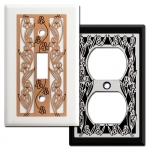 Iris Flowers Light Switch Plate Covers
