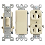 Ivory Electrical Outlets & Light Switches