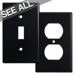 Black Switch Plates