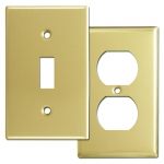 Polished Brass Switch Plates