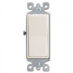 Almond Decora Rocker Light Switches