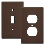 Brown Switch Plates