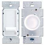 White Dimmer Switches & Rotary Knobs