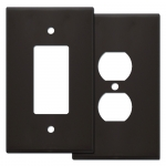 Brown Oversized Wall Plate Covers