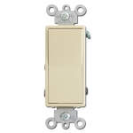 Ivory Decora Rocker Switches