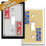 Themed Decorative Metal Switch Plates
