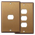 Satin Bronze Despard Light Switch Plates