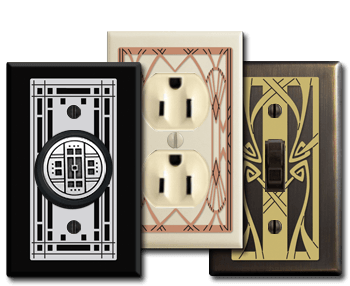 Unique Decorative Switch Plates