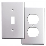Brushed Aluminum Switch Plates