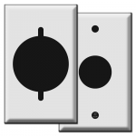 Round Electrical Outlet Covers