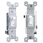 White Toggle Light Switches