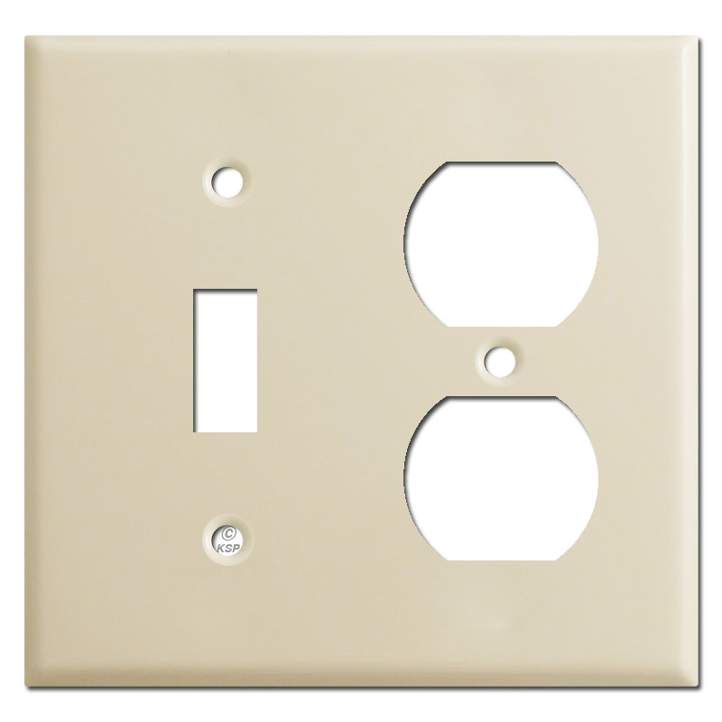 Buy combination mixed-use switchplates 1 to 6 gangs