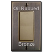 Brass Switches & Bronze Covers