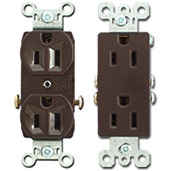 Brown Outlets Duplex vs Decorator