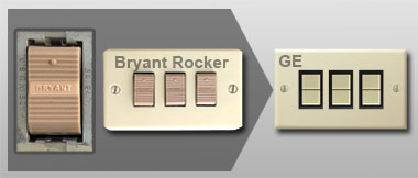 Bryant Low Voltage Lighting Replacement Split Banner Left on Remcon Low Voltage Switches