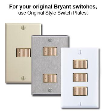 Original Low Voltage Bryant Light Switches