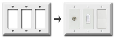 Deep Switch Plate Inserts