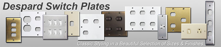 Despard Switch Plates