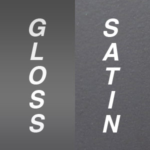 Gloss vs Satin Electrical Devices