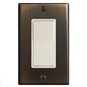 Almond & Oil Rubbed Bronze