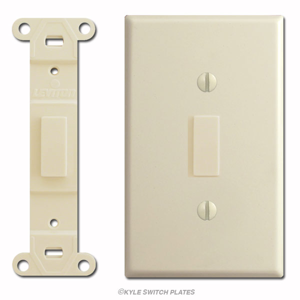 Horizontal Toggle Switch Plates as well 557480 Definitive Grafik Eye Master Thread 4 also Switch Plates In Any Size Design Your Own With Inserts together with Gu Patrol  prehensive Power Panel further Wiring Diagram Leviton Lighted Switch. on dimmer switch with outlet