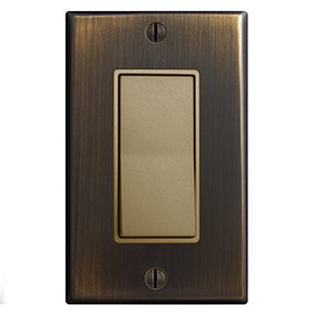 Oil Rubbed Bronze & Antique Brass Switches