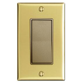 Polished Brass & Antique Brass Device
