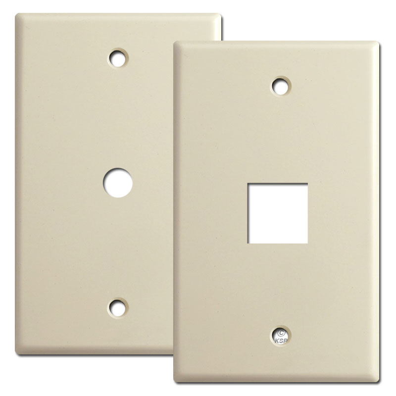 Buy cable and phone outlet cover switchplates