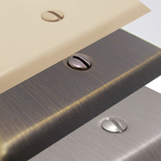 Compare Quality Switch Plate Finishes