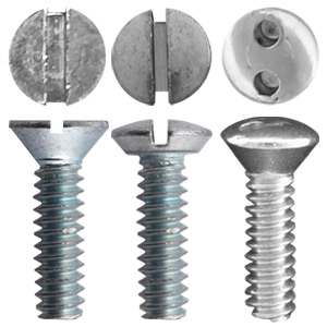 Types of Electrical Switch Plate Screws