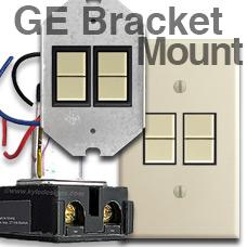 GE Bracket Mount Light Switches