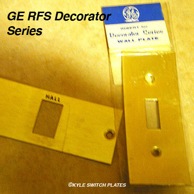 ... RFS decorator switch plate panels for toggle and low voltage switches