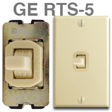 Old GE RTS-5 Switch - Discontinued