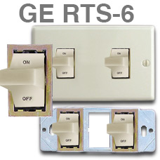 GE TRS-6 Trigger Switches for Low Voltage