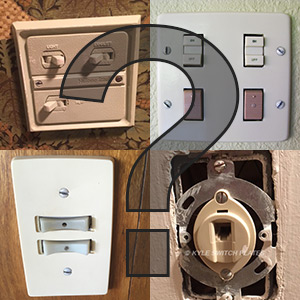Identify Old Switch or Odd Cover Plate