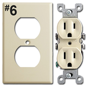 Identify Duplex Outlet Opening