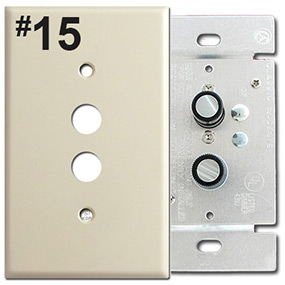 Identify Push Button Dimmer Opening