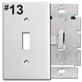 Identify Toggle Dimmer Opening