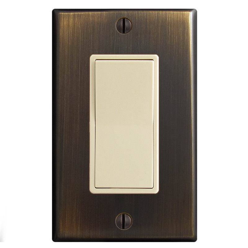 Ivory & Oil Rubbed Bronze