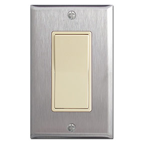 Stainless Steel Light Switch Plates Outlet Covers Rocker
