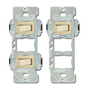 Despard Switches in Mounting Straps