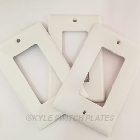 Plastic vs Metal Switchplates
