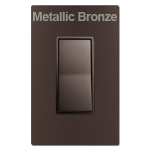 Metallic Bronze Switches & Wall Plates
