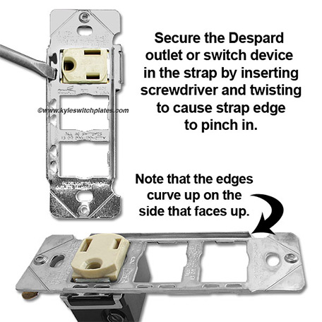 How to Mount Despard Light Switches