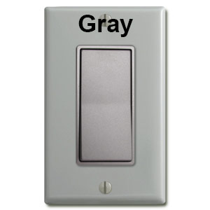 Nickel Switch & Gray Plate