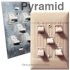Old Fashioned Pyramid Lighting for Homes