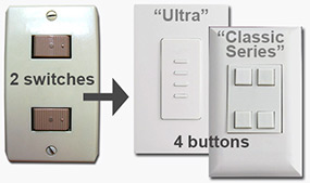Tips for Replacing Bryant with Touch Plate Lighting width=