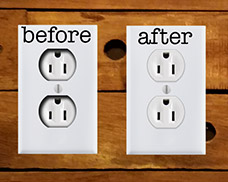 Fix Sunken Electrical Devices
