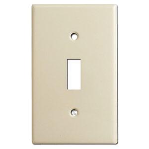 Standard toggle switch plates